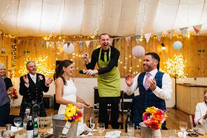 Singing Waiters Champagne