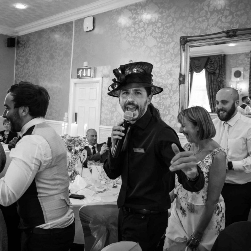 Singing Waiter Performance